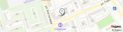 Мыльная лавка на карте Брянска
