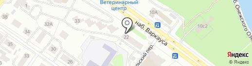 Vin-авто на карте Петрозаводска