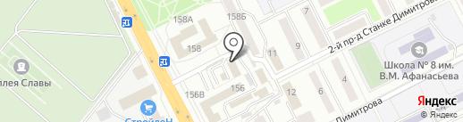 Агентство недвижимости XXI век на карте Брянска