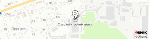 ПервоеВторое на карте Брянска