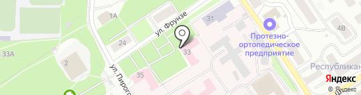 Территориальный центр медицины катастроф Республики Карелия на карте Петрозаводска