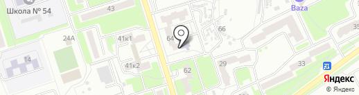 Брянская областная научная универсальная библиотека им. Ф.И. Тютчева на карте Брянска