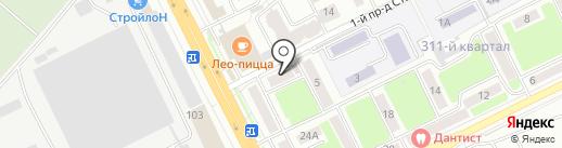 Нотариус Целикова Т.В. на карте Брянска