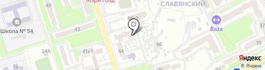 Фотостудия Павла Абрамченкова на карте Брянска
