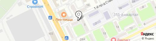 Золушка на карте Брянска