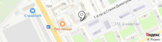 Техностройдизайн на карте Брянска