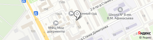 Центр занятости населения на карте Брянска