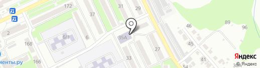 СДЮСШОР по борьбе на карте Брянска