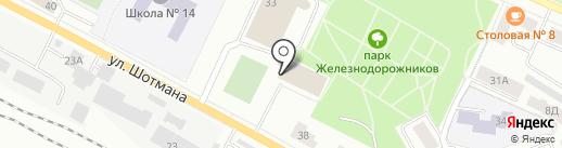 Дом бокса, МУП на карте Петрозаводска