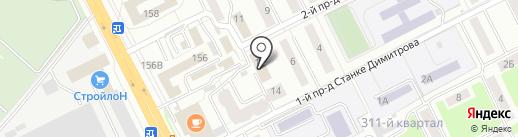 Управление государственной службы по труду и занятости населения Брянской области на карте Брянска