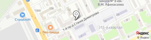 Чебурашка на карте Брянска