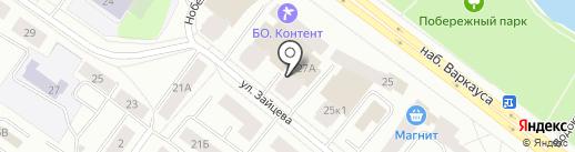 Радужный 3, ТСЖ на карте Петрозаводска