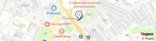 Азбукфото на карте Брянска