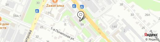 Кабинет коррекции зрения на карте Брянска
