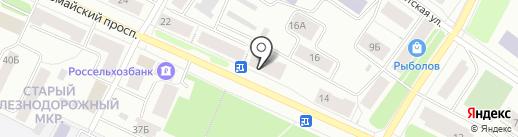 Бюро квартир на карте Петрозаводска