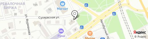 Новые технологии на карте Петрозаводска
