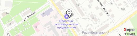 Петрозаводское протезно-ортопедическое предприятие, ФГУП на карте Петрозаводска