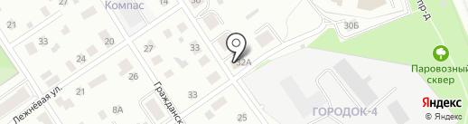 Центр авторазбора на карте Петрозаводска