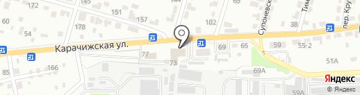 Геоземкадастр на карте Брянска