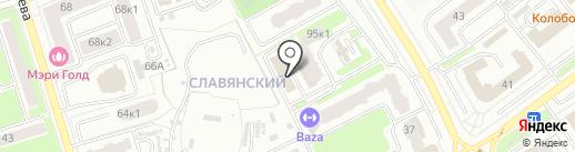 Энфорта на карте Брянска