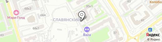 ЭР-Телеком Холдинг на карте Брянска