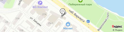 Радужный-4, ТСЖ на карте Петрозаводска