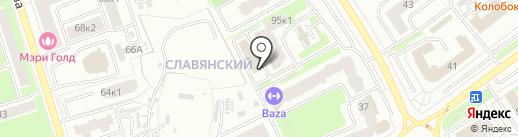 Дом.ru Бизнес на карте Брянска