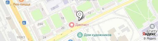 Сантех House на карте Брянска