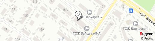 Зайцева 9а, ТСЖ на карте Петрозаводска