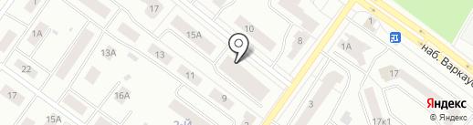Аистенок на карте Петрозаводска