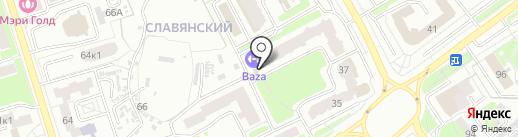 Baza на карте Брянска