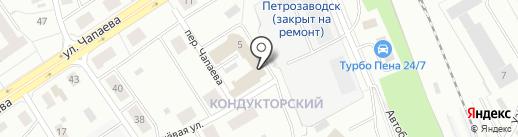 Отделение Пенсионного фонда РФ по Республике Карелия на карте Петрозаводска