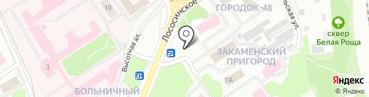 Лайт Авто на карте Петрозаводска