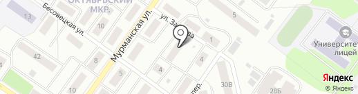 Мурманское 9а, ТСЖ на карте Петрозаводска
