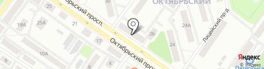 Визит на карте Петрозаводска