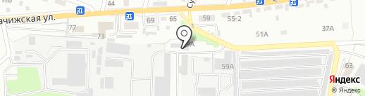 Стройкомплект на карте Брянска