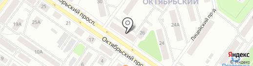 Сусанна на карте Петрозаводска