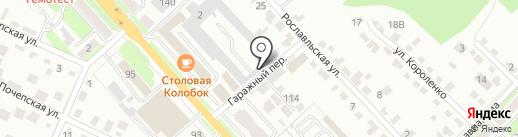 Магазин игрушек на карте Брянска