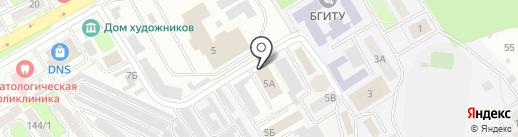 МЕДИАГРАД на карте Брянска