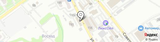 Экстра Вуд на карте Брянска