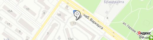 Север Минералс, ЗАО на карте Петрозаводска