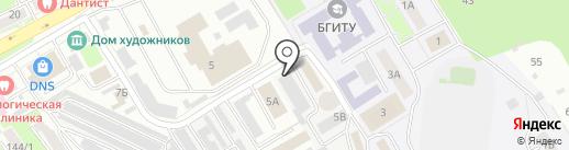 Брянскэлектро на карте Брянска