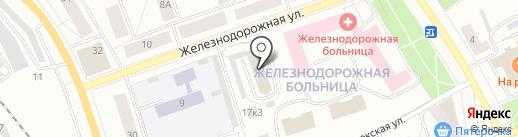 Эксклюзив на карте Петрозаводска