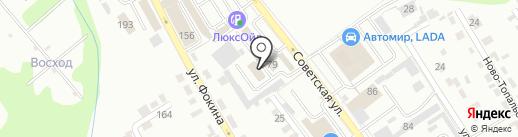 ВегаАвангард на карте Брянска