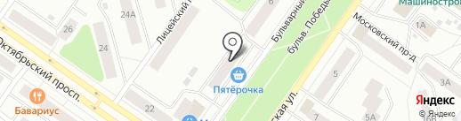 Улыбка радуги на карте Петрозаводска