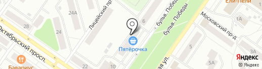 ПОДВАЛ МАНЬЯКА на карте Петрозаводска