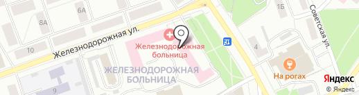 Формула Здоровья на карте Петрозаводска