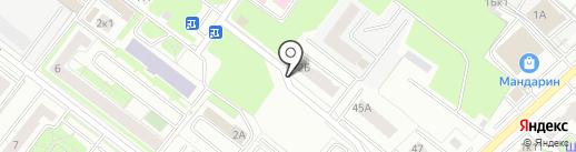 БрянскСтройРазвитие на карте Брянска