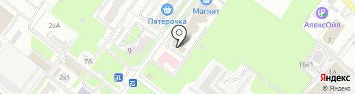 На Степной на карте Брянска