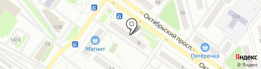 Сердце Карелии на карте Петрозаводска